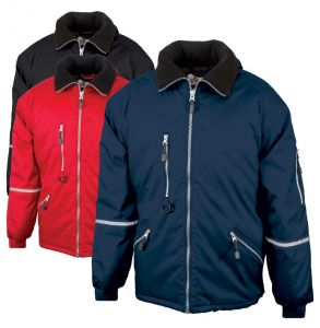 Enhanced Visibility Express Quilt Lined Safety Jacket