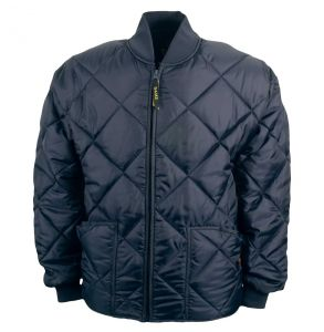 Bravest Classic Diamond Quilted Chore Coat | Navy