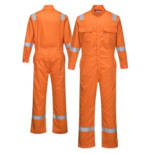 Portwest FR94 Enhanced Visibility Bizflame 88/12 Iona ARC-2 FR Coverall | Orange