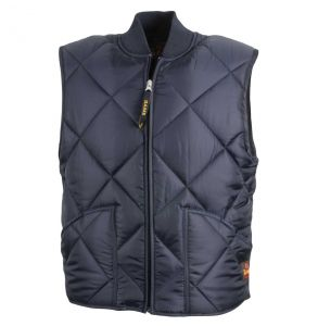 Finest Classic Diamond Quilted Vest | Navy