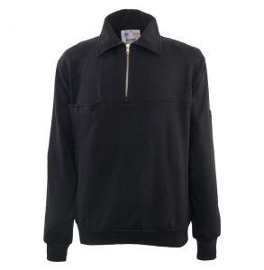 Firefighters Quarter-Zip Work Shirt | Navy
