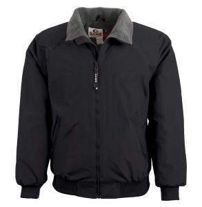 Three Seasons Fleece Lined Jacket | Black
