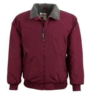 Three Seasons Fleece Lined Jacket | Maroon