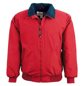 Three Seasons Fleece Lined Jacket | Red