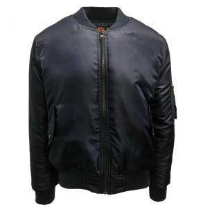 Original Quilt Lined Flight Jacket | Black