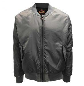 Original Quilt Lined Flight Jacket | Gun Metal Grey