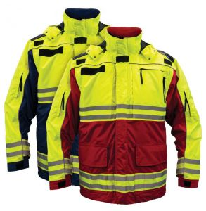 Hi Vis ANSI Class 2 All Weather 3-in-1 Rescue Safety Parka