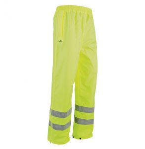 Hi Vis ANSI Class E The Safety Rain Pant | Front