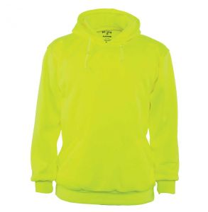 Hi Vis Solid Pull-Over Hoodie Safety Sweatshirt  | Front