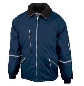 Enhanced Visibility Express Quilt Lined Safety Jacket | Navy