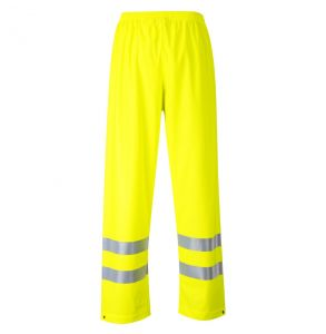 Portwest FR43 Hi Vis ANSI Class E Sealtex Flame FR Treated Safety Rain Pant