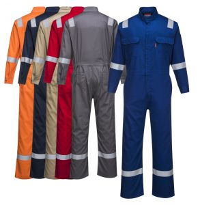 Portwest FR94 Enhanced Visibility Bizflame 88/12 Iona ARC-2 FR Coverall