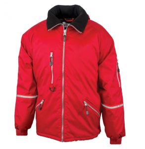 Enhanced Visibility Express Quilt Lined Safety Jacket | Red