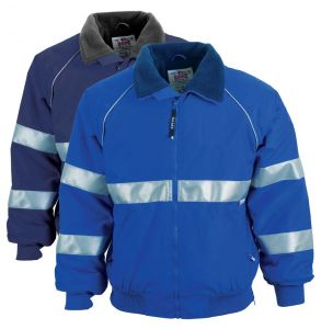 Enhanced Visibility Commander Fleece Lined Safety Jacket