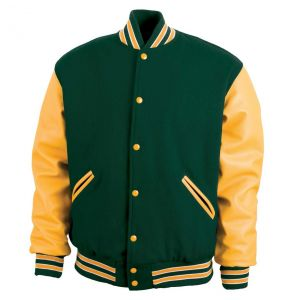 Legendary Varsity Wool / Leather Jacket - Made in the USA