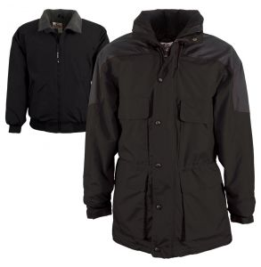 Yukon Heavyweight 3-in-1 Thermal Parka | Black