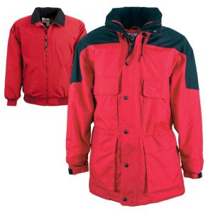 Yukon Heavyweight 3-in-1 Thermal Parka | Red